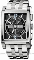 Replica Oris Rectangular Titan Chronograph Mens Wristwatch 674.7625.7064.MB