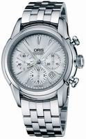 Replica Oris Artelier Chronograph Mens Wristwatch 676.7547.40.51.MB