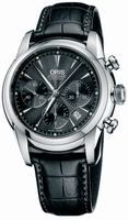 Replica Oris Artelier Chronograph Mens Wristwatch 676.7547.40.54.LS