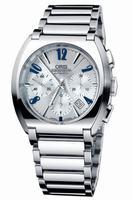 Replica Oris Frank Sinatra Chronograph Mens Wristwatch 676.7574.40.61.MB