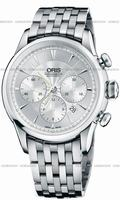 Replica Oris Artelier Chronograph Mens Wristwatch 676.7603.4051.MB