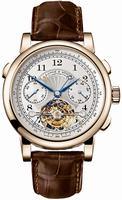 Replica A Lange & Sohne Tourbograph Pour le Merite Mens Wristwatch 712.050