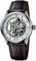 Replica Oris Artelier Mens Wristwatch 734.7591.40.51.LS