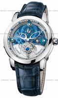 Replica Ulysse Nardin Royal Blue Tourbillon Mens Wristwatch 799-80