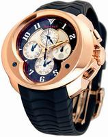 Replica Franc Vila Chronograph Master Quantieme Mens Wristwatch 8.03-FVa129-A-RG-GS-rbr