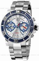 Replica Ulysse Nardin Maxi Marine Diver Chronograph Mens Wristwatch 8003-102-7.91