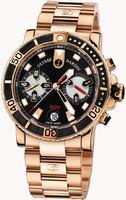 Replica Ulysse Nardin Maxi Marine Diver Chronograph Mens Wristwatch 8006-102-8M/92