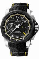 Replica Corum Admirals Cup Seafender 48 Chrono Centro Mens Wristwatch 960.101.04-0231-AN14