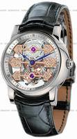 Replica Girard-Perregaux Tourbillon 3 Gold Bridges Skeleton Mens Wristwatch 99050-53-000-BA6A