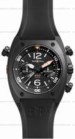 Replica Bell & Ross BR 02-94 Chronographe Carbon Mens Wristwatch BR02-CHR-BL-CA