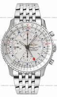Replica Breitling Navitimer World Mens Wristwatch A2432212.G571-SS