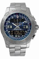 Replica Breitling Airwolf Mens Wristwatch A7836323.BLU-SS