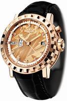 Replica DeWitt Silicium Hora Mundi Mens Wristwatch AC.2121.53.M625