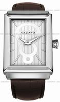Replica Azzaro Legend Rectangular 2 Hands Mens Wristwatch AZ2061.12AH.000