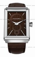 Replica Azzaro Legend Rectangular 2 Hands Mens Wristwatch AZ2061.12HH.000