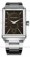Replica Azzaro Legend Rectangular 2 Hands Mens Wristwatch AZ2061.12HM.000