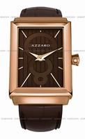 Replica Azzaro Legend Rectangular 2 Hands Mens Wristwatch AZ2061.52HH.000
