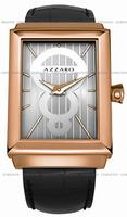 Replica Azzaro Legend Rectangular 2 Hands Mens Wristwatch AZ2061.52SB.000