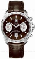 Replica Tag Heuer Grand Carrera Chronograph Calibre 17 RS Mens Wristwatch CAV511E.FC6231