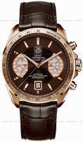 Replica Tag Heuer Grand Carrera Chronograph Calibre 17 RS Mens Wristwatch CAV514C.FC8171