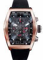 Replica Cvstos Challenge Chronograph Mens Wristwatch CC.RBR