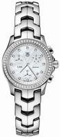 Replica Tag Heuer Link Quartz Chronograph Ladies Wristwatch CJF1314.BA0580