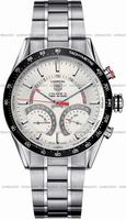 Replica Tag Heuer Carrera Calibre S Electro-Mechanical Lap timer Mens Wristwatch CV7A11.BA0795