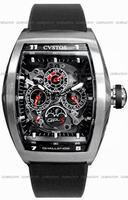Replica Cvstos Challenge QP-S Perpetual Mens Wristwatch CVQPTNSTGR