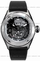 Replica Cvstos Challenge-R Twin Time Mens Wristwatch CVTTRNSTGR
