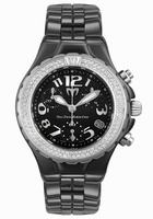 Replica Technomarine TechnoDiamond Chrono Ceramique Unisex Wristwatch DTCB02C