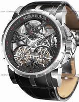 Replica Roger Dubuis Excalibur Double Tourbillon Mens Wristwatch EX45.01SQ.20.00-SE000-B