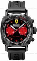 Replica Panerai Ferrari DLC Chronograph Mens Wristwatch FER00038