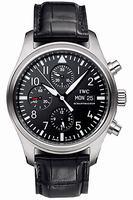 Replica IWC Pilots Watch Chrono-Automatic Mens Wristwatch IW371701