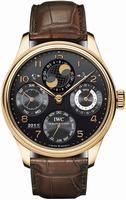 Replica IWC Portuguese Perpetual Calendar Mens Wristwatch IW503202