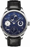 Replica IWC Portuguese Perpetual Calendar Mens Wristwatch IW503203