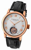 Replica Stuhrling Kings Court Swiss Tourbillon Mens Wristwatch KCTRG