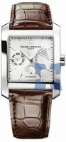 Replica Baume & Mercier Hampton Square Mens Wristwatch MOA08757