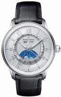 Replica Maurice Lacroix Masterpiece Phase de Lune Mens Wristwatch MP6428-SS001-11E