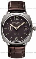Replica Panerai Radiomir 8 days Titanio 45mm Mens Wristwatch PAM00346
