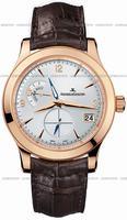 Replica Jaeger-LeCoultre Master Hometime Mens Wristwatch Q1622420