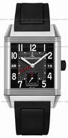 Replica Jaeger-LeCoultre Reverso Squadra Hometime Black Mens Wristwatch Q700868P