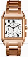 Replica Jaeger-LeCoultre Reverso Squadra Chronograph GMT Mens Wristwatch Q7012120