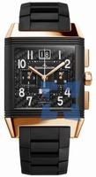 Replica Jaeger-LeCoultre Reverso Squadra World Time Polo Fields Mens Wristwatch Q702L67P