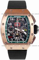 Replica Richard Mille RM 011 Felipe Massa Flyback Chronograph Mens Wristwatch RM011-RG