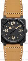 Replica Bell & Ross BR 03-92 Heritage Mens Wristwatch BR0392-HERITAGE