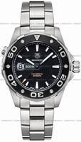 Replica Tag Heuer Aquaracer 500M Calibre 5 Mens Wristwatch WAJ2110.BA0870