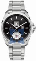 Replica Tag Heuer Grand Carrera Calibre 8 RS Grand Date GMT Mens Wristwatch WAV5111.BA0901