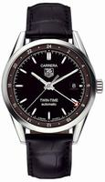 Replica Tag Heuer Carrera Twin Time Mens Wristwatch WV2115.FC6180