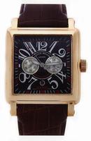 Replica Franck Muller King Conquistador Cortez Chronograph Midsize Mens Wristwatch 10000 K CC-3