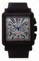 Replica Franck Muller King Conquistador Cortez Chronograph Midsize Mens Wristwatch 10000 K CC-5